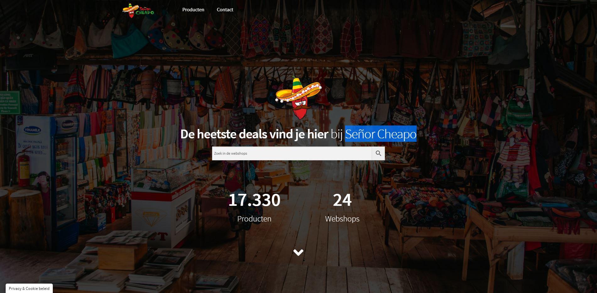 Señor Cheapo de vergelijker van Nederland